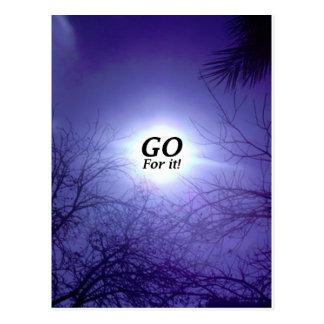 GO For It! Post Cards