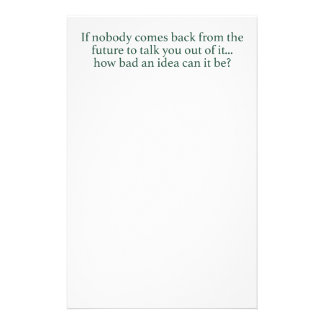 Go For It! Stationery