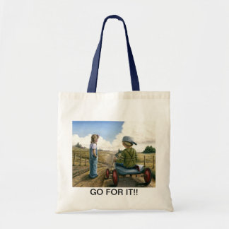 GO FOR IT!! TOTE BAG