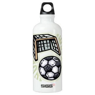 Go For The Goal Aluminum Water Bottle