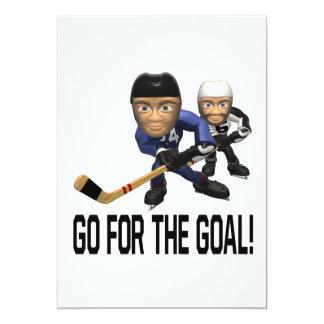Go For The Goal Card
