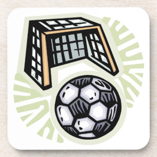 Go For The Goal Drink Coaster