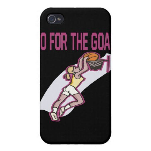 Go For The Goal iPhone 4 Covers