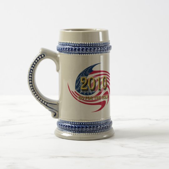 Go For The Gold Beer Stein