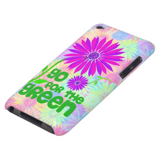 Go for the Green iPod Touch Case