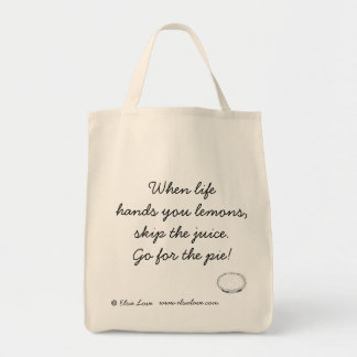 Go For the Pie! Organic Tote Bag