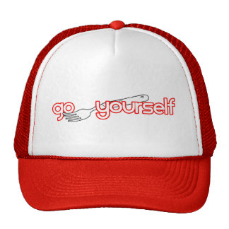 Go Fork Yourself Mesh Hat