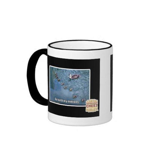 Go forth my minions coffee mugs