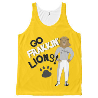Go Frakkin' Lions (Gold) All-Over Print Tank Top