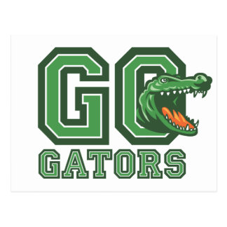 Go Gators Postcard