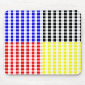 Go Gingham Mouse Pad