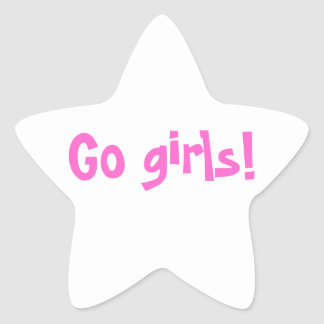 Go girls! sticker