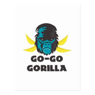 Go-Go Gorilla Postcards