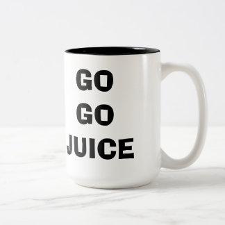 Go Go Juice Coffe Cup Two-Tone Coffee Mug