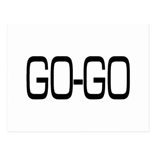 GO-GO POST CARD