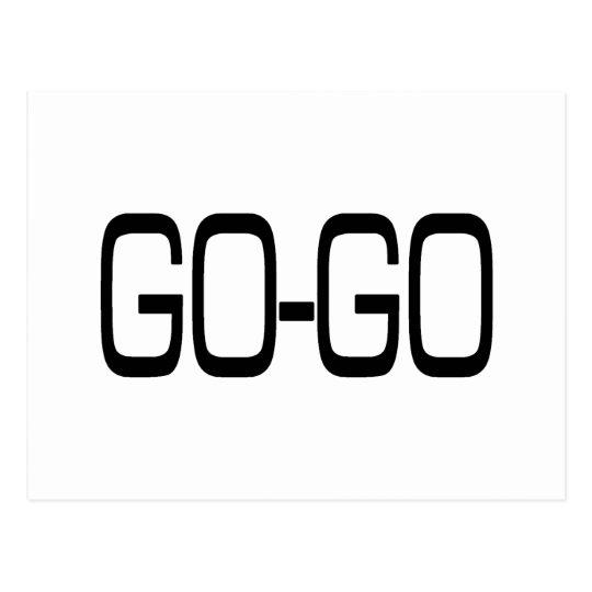 GO-GO POSTCARD