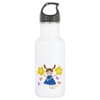 Go! Go! Ra! Ra! 18oz Water Bottle