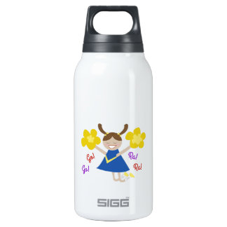 Go! Go! Ra! Ra! 10 Oz Insulated SIGG Thermos Water Bottle