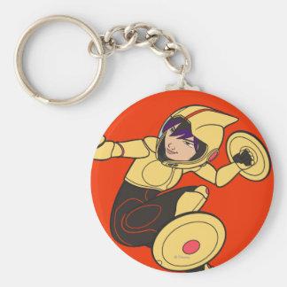 Go Go Tomago Yellow Suit Keychain