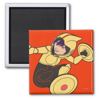 Go Go Tomago Yellow Suit Magnet