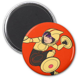 Go Go Tomago Yellow Suit Magnet