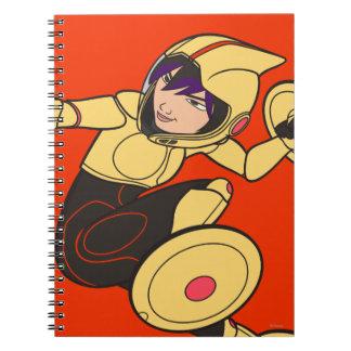 Go Go Tomago Yellow Suit Notebook