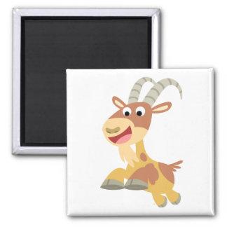 Go Goat!! (cute cartoon goat) Magnet