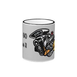 GO, GOJuice !! Ringer Coffee Mug