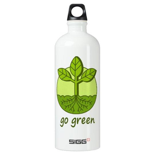 Go Green 32 oz. Water Bottle