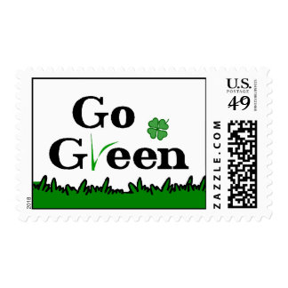Go Green 49 cent Stamp