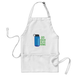 Go Green Adult Apron