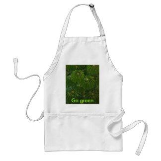 Go green adult apron