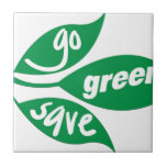 go green and save tiles