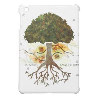 Go Green Artistic Tree iPad Case