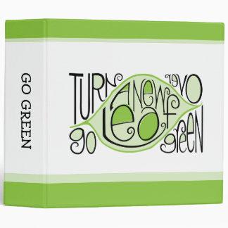 Go Green Avery Binder