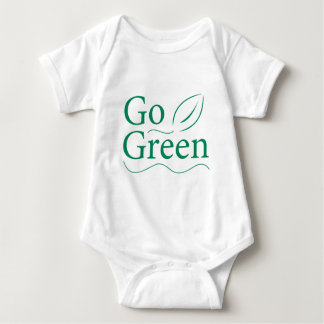 Go Green Baby Bodysuit