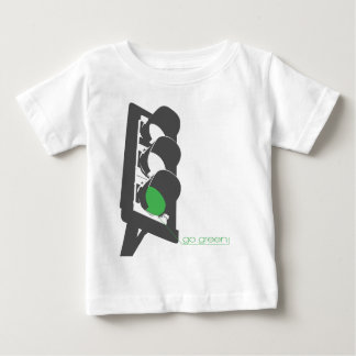 go green baby T-Shirt