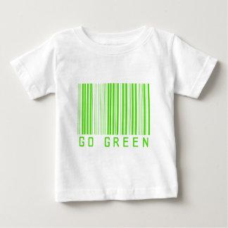 Go Green Barcode 01 Baby T-Shirt