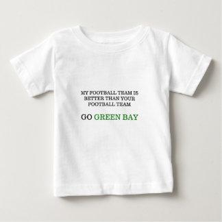 Go Green Bay Baby T-Shirt