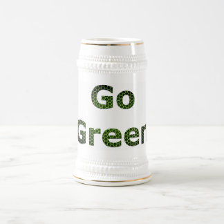 Go Green Beer Stein