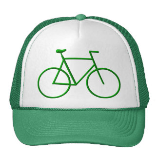 Go Green Bicycle Mesh Hats