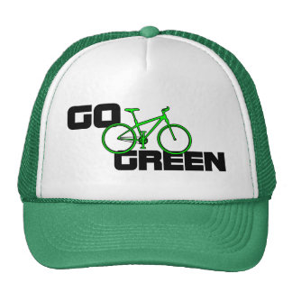 Go Green - Bicycle Hats