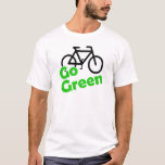 go green bicycle T-Shirt