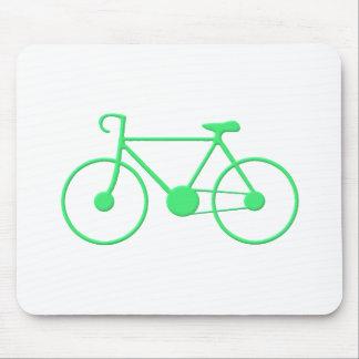 Go-Green Bike Mouse Pad