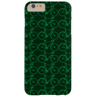 go green biking / cycling barely there iPhone 6 plus case