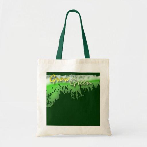 Go Green Budget Tote Bag