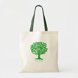 Go Green Budget Tote Bag