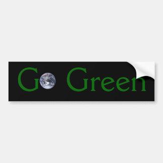 Go Green Bumper Sticker