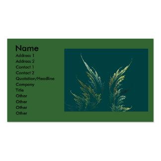 Go Green Business Card