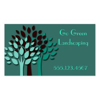 Go Green Business Card Template